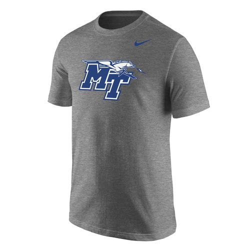 Nike Men's Middle Tennessee State University Logo T-shirt
