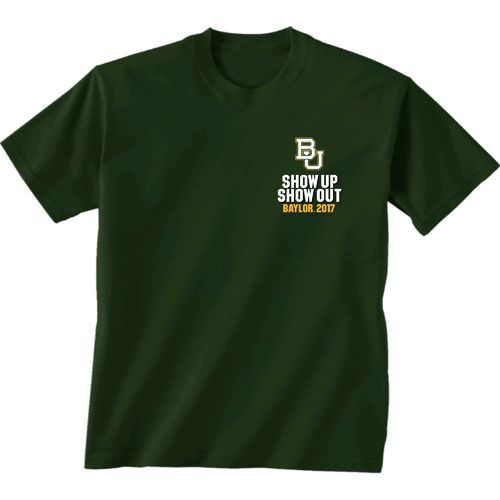 New World Graphics Men's Baylor University Football Schedule '17 T-shirt - view number 2