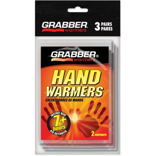 Display product reviews for Game Winner® Grabber Hand Warmers 3-Pack