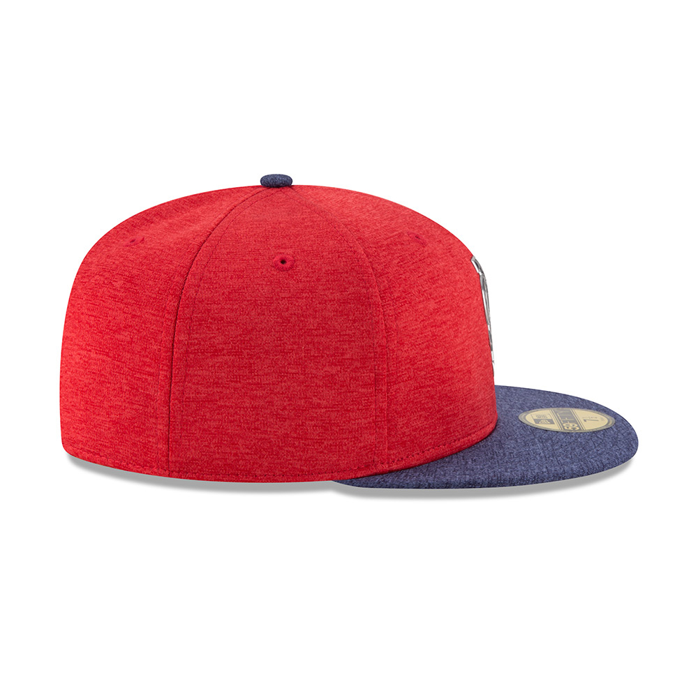New Era Men's St. Louis Cardinals Stars and Stripes 2T '17 59FIFTY Cap - view number 6