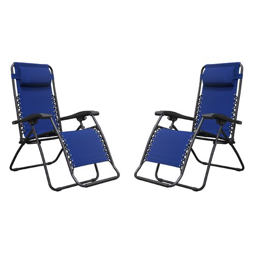 Caravan Canopy Sports Infinity Zero-Gravity Chairs 2-Pack