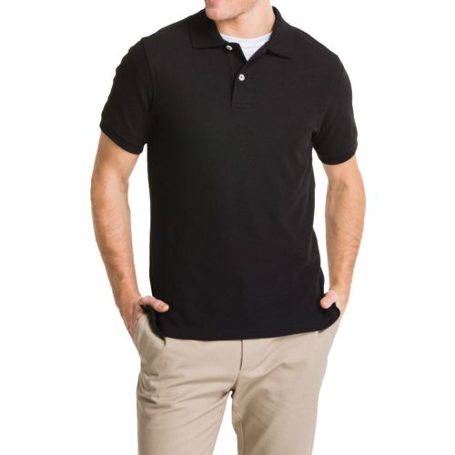Lee Young Men's Short Sleeve Pique Polo Shirt - view number 2