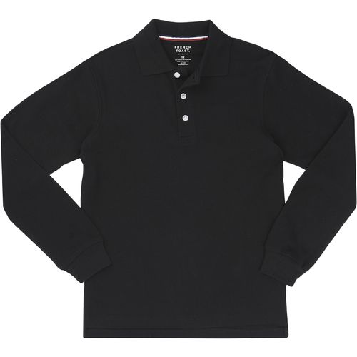 French Toast Boys' Long Sleeve Pique Polo Shirt - view number 1