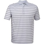 Callaway Men's Heather Stripe Performance Golf Polo Shirt - view number 1