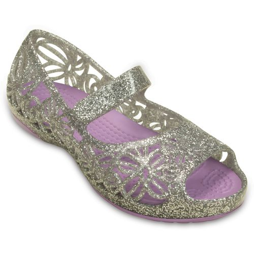 Crocs Girls' Isabella Glitter Flats - view number 2