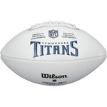 Wilson Tennessee Titans Team Logo Autograph Football - view number 2