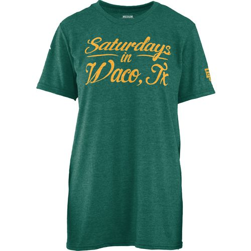 Three Squared Juniors' Baylor University Saturday T-shirt