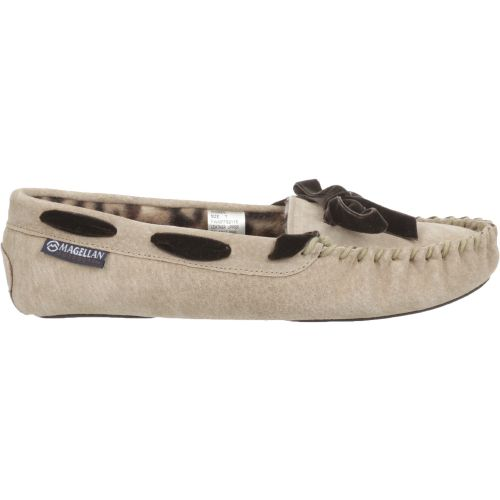 Magellan Outdoors Women's Leopard Moc Slippers