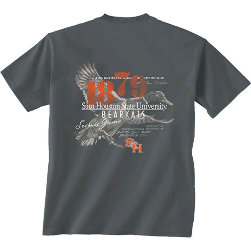 New World Graphics Men's Sam Houston State University In Flight T-shirt