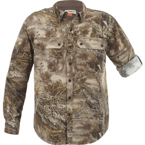 Magellan Outdoors Men's Hill Country Long Sleeve Twill Shirt