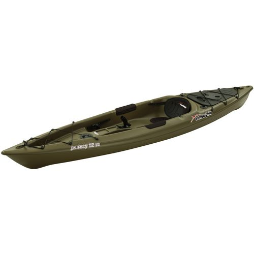 Sun dolphin journey 12 ft fishing kayak academy for Fishing kayak academy