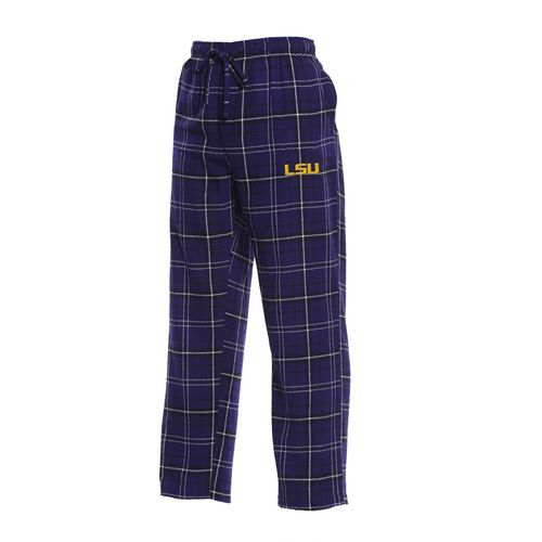 Concepts Sport Men's Louisiana State University Ultimate Flannel Pant