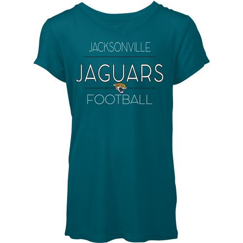 5th & Ocean Clothing Women's Jacksonville Jaguars Between the Lines T-shirt