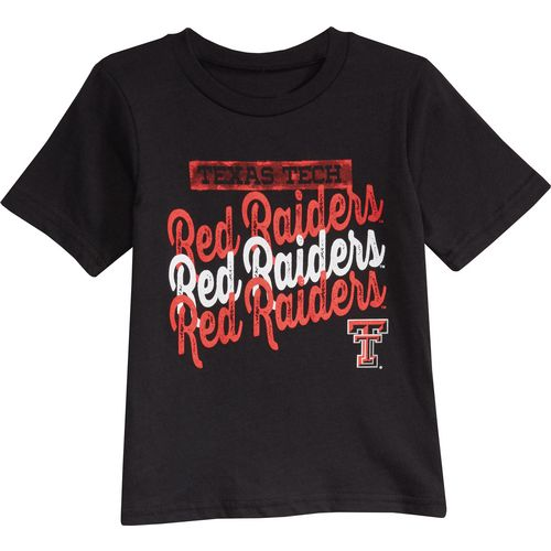Gen2 Toddlers' Texas Tech University Watermarked T-shirt