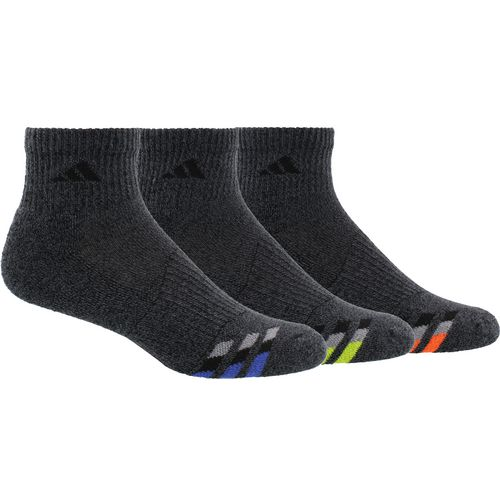 adidas Men's Cushioned Quarter Socks 3 Pack