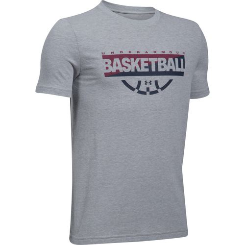 Under Armour Boys' Baseline Short Sleeve Graphic T-Shirt