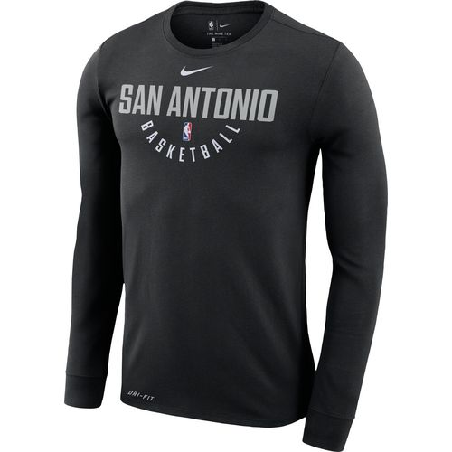 Nike Men's San Antonio Spurs Nike Dry Practice Long Sleeve T-shirt