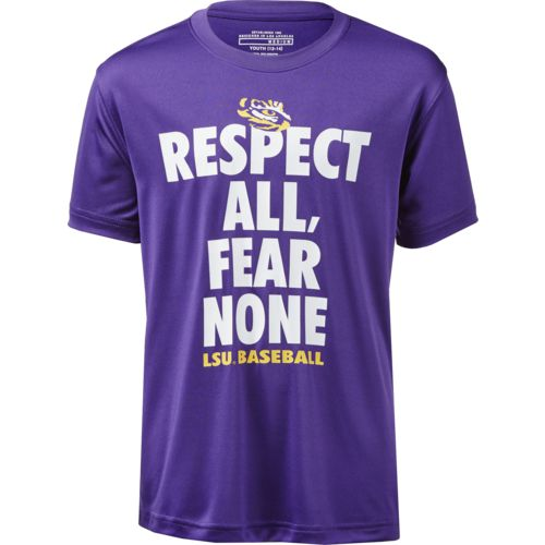 Colosseum Athletics Boys' Louisiana State University Now Baseball T-shirt