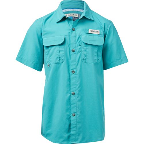 Display product reviews for Magellan Outdoors Boys' Laguna Madre Button Down Shirt