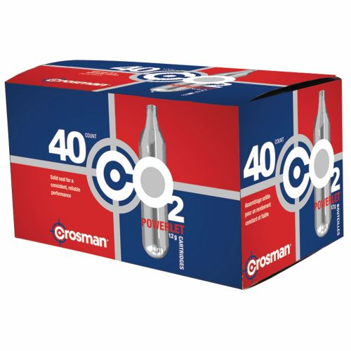 Crosman Copperhead Powerlet 12-Gram CO₂ Cartridges 40-Pack - view number 1