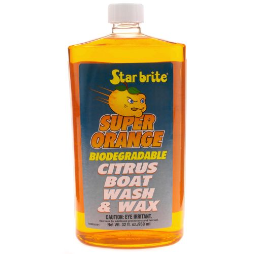 Star brite 32 oz. Super Orange Boat Wash and Wax