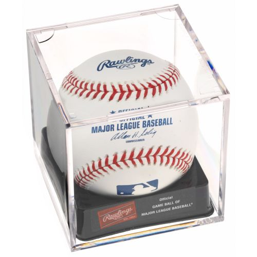 Rawlings® Official MLB Baseball with Display Cube