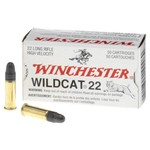 Winchester Wildcat® Lead Round-Nose .22 LR 40-Grain Rifle/Handgun Ammunition