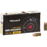 Monarch™ FMJ 9 x 18 mm Makarov 94-Grain Pistol Ammunition