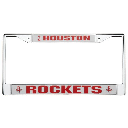 Tag Express Houston Rockets License Plate Frame