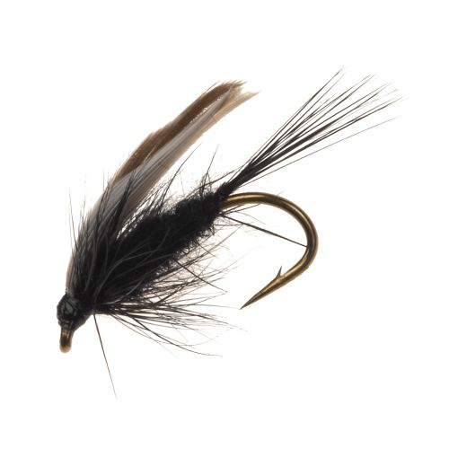 Superfly Black Gnat 1/2 in Flies 2-Pack