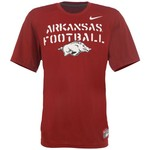Nike Men's University of Arkansas Dri-FIT Bench Press Legend T-shirt