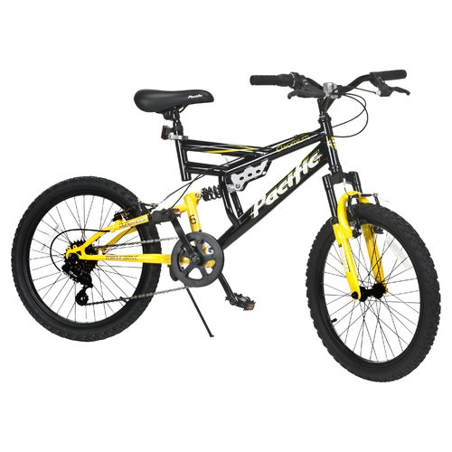 "Pacific Boys' Chromium 20"" 6-Speed Mountain Bicycle"