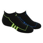 adidas Youth ClimaLite® No-Show Socks 2-Pack
