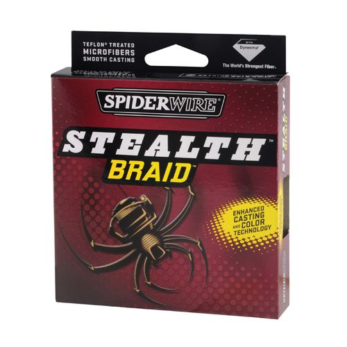 Image for Spiderwire® Stealth™ 50 lb. - 125 yds. Braided Fishing Line from Academy