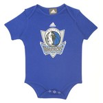 adidas Infants' Dallas Mavericks Creeper