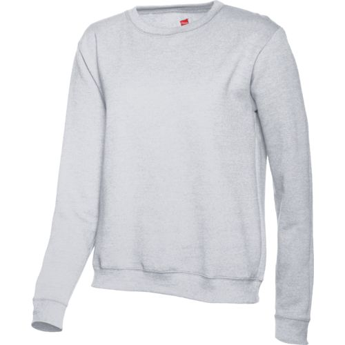 Image for Hanes Women's Cotton Rich Fleece Crew Pullover from Academy