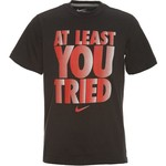Nike Boys' At Least You Tried T-shirt