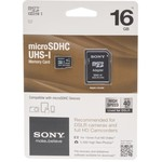 Sony 16 GB microSDHC CL10/UHS-1 High-Speed Memory Card