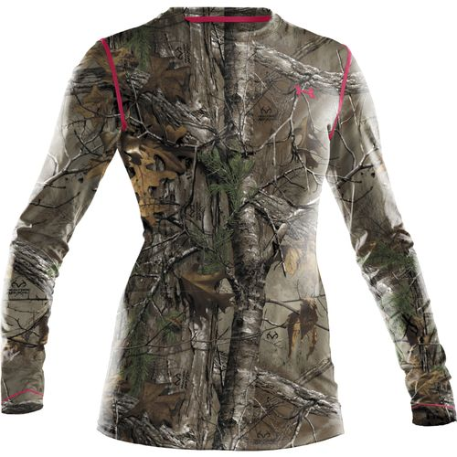 Under Armour  Women s Evo HeatGear  Camo Long Sleeve T-shirt