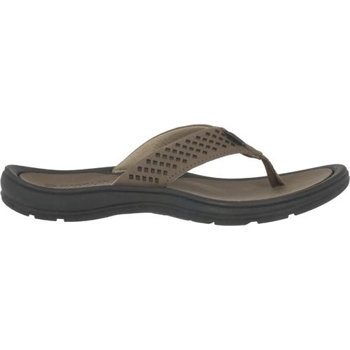 Magellan Outdoors  Men s Gust Leather Flip-Flops