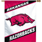 WinCraft University of Arkansas Vertical Flag
