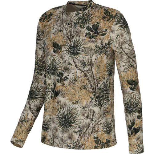 Display product reviews for GameGuard Men's Camo Performance Long Sleeve T-shirt