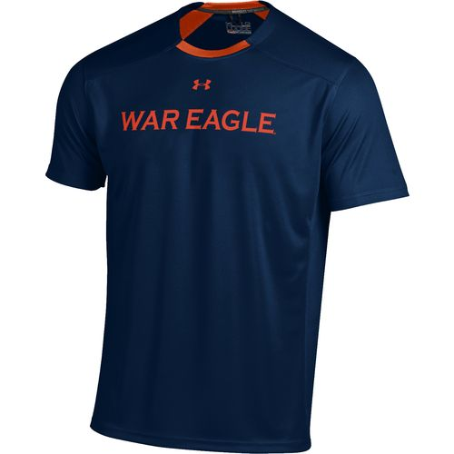 Under Armour  Adults  Auburn University Sideline Win It T-shirt