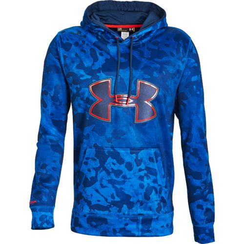 Under Armour  Men s Fleece Storm Printed Big Logo Hoodie