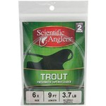 Scientific Anglers™ 7.5' Trout Freshwater Leaders 2-Pack