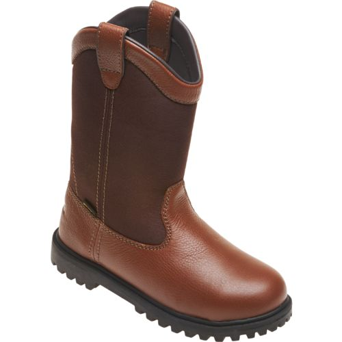 Brazos® Men's Ironmite Steel Toe Wellington Work Boots