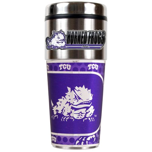 Great American Products Texas Christian University 16 oz. Travel Tumbler