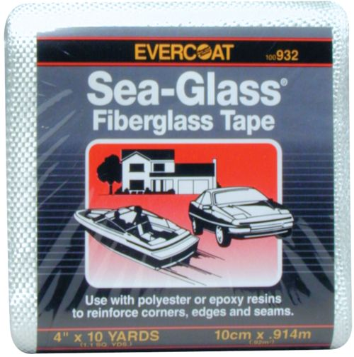 Evercoat Sea-Glass Fiberglass Tape