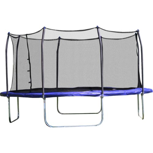 Display product reviews for Skywalker Trampolines 13' Square Trampoline with Enclosure