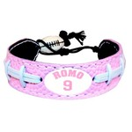 GameWear Dallas Cowboys Tony Romo #9 NFL Jersey Bracelet